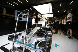 August 28, 2016 - Spa Francorchamps, Belgium - Motorsports: FIA Formula One World Championship 2016, Grand Prix of Belgium, .#44 Lewis Hamilton (GBR, Mercedes AMG Petronas Formula One Team) (Credit Image: © Hoch Zwei via ZUMA Wire)