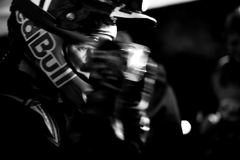 Flims (Switzerland) 19 june 2009 - Rene Wildhaber on the night Trail At the Red Bull Trail Fox © Christophe Margot