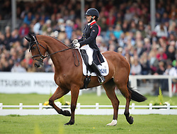 Great Britain's Laura Collett on Mr Bass competes in the dressage during day three of the 2019 Mitsubishi Motors Badminton Horse Trials at The Badminton Estate, Gloucestershire.