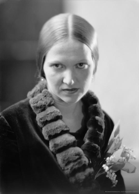 Ethel Mannin, English Author and Communist, 1929