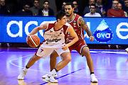 Candi Leonardo<br /> Grissin Bon Pallacanestro Reggio Emilia - VL Pesaro<br /> Lega Basket Serie A 2017/2018<br /> Reggio Emilia, 08/10/2017<br /> Foto A.Giberti / Ciamillo - Castoria