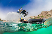 Red Bull Pro Athlete's Vávra Hradilek, kayaker and Omeir Saeed, wakeboarder