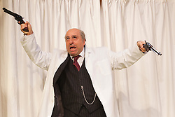 © Licensed to London News Pictures. 09/05/2012. London, England. Omid Djalili as Dr. Rance. What the Butler Saw by Joe Orton and directed by Sean Foley opens at the Vaudeville Theatre, London. Photo credit: Bettina Strenske/LNP
