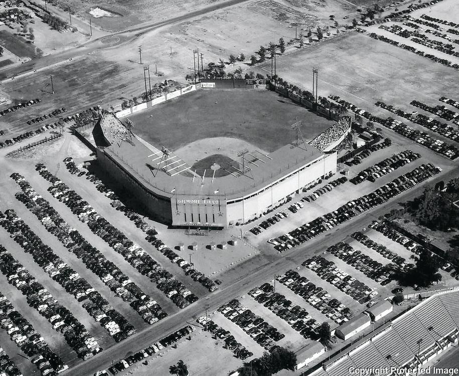 1949 Aerial of Gilmore Stadium