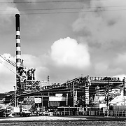 Mount Isa ,Australia,(QSL): Exterior view of the Mount Isa, Mines Limited, Power plant by . Photographs by Alejandro Sala   Visit Shop Images to purchase and download a digital file and explore other Alejandro-Sala images…