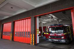 London, UK. 4th May, 2018. London Fire Brigade's Soho Fire Station.