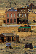 Old buildings at Bodie State Historic Park,  Mono County, California