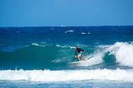 Surfing at Ho'okipa Beach Park, Paia, Maui, Hawaii, USA