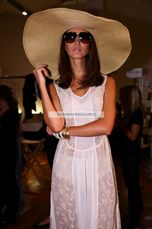 Daisy Fuentes fashion show during STYLE360 in New York on September 13, 2011
