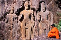 Sri Lanka - Buduruvagala - Moine