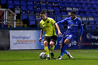 Jordan Keane. Hartlepool United FC 4-0 Stockport County FC. Vanarama National League. 22.12.20