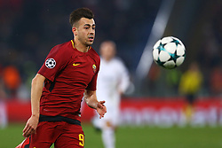December 5, 2017 - Rome, Italy - Stephan El Shaarawy of Roma during the UEFA Champions League Group C football match AS Roma vs FK Qarabag on December 5, 2017 at the Olympic stadium in Rome, Italy. (Credit Image: © Matteo Ciambelli/NurPhoto via ZUMA Press)