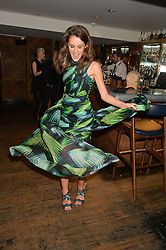 ROSANNA FALCONER at the launch of Geisha at Ramusake hosted by Piers Adam and Marc Burton at Ramusake, 92B Old Brompton Road, London on 11th June 2015.