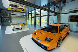 Lamborghini Diablo 35 GT on display in museum at Volkswagen's Autostadt in Wolfsburg , Germany
