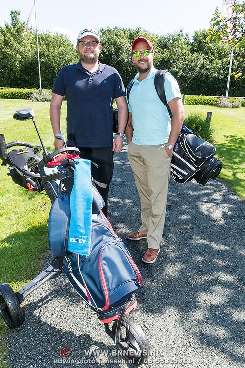 NLD/Brielle/20190614 - Bekend Nederland golft voor Afrika, Jon Karthaus en Diederik Jekel
