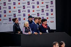 DOVER Robert (USA)<br /> Paris - FEI World Cup Finals 2018<br /> FEI World Cup Grand Prix de Dressage<br /> www.sportfotos-lafrentz.de/Stefan Lafrentz<br /> 13. April 2018