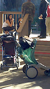 Exclusive<br /> Kim, kanye and baby North take a day out to Phoenix zoo , pictured at the Camel ride<br /> ©Exclusivepix Media