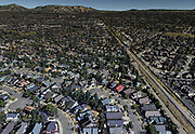 A Google Earth Pro rendering of the Coffey Park neighborhood in Santa Rosa, Calif. The area was later devastated by the Tubbs Fire in October 2017.