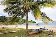 Outrigger canoe, Kioa Island Fiji
