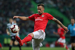 February 3, 2019 - Lisbon, Portugal - Benfica's Suisse forward Haris Seferovic in action during the Portuguese League football match Sporting CP vs SL Benfica at Alvalade stadium in Lisbon, Portugal on February 3, 2019. (Credit Image: © Pedro Fiuza/NurPhoto via ZUMA Press)