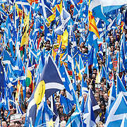 The AUOB march through Glasgow makes it's way down Woodlands Road, Glasgow.<br />  <br /> Picture Robert Perry 4th May 2019<br /> <br /> Must credit photo to Robert Perry<br /> FEE PAYABLE FOR REPRO USE<br /> FEE PAYABLE FOR ALL INTERNET USE<br /> www.robertperry.co.uk<br /> NB -This image is not to be distributed without the prior consent of the copyright holder.<br /> in using this image you agree to abide by terms and conditions as stated in this caption.<br /> All monies payable to Robert Perry<br /> <br /> (PLEASE DO NOT REMOVE THIS CAPTION)<br /> This image is intended for Editorial use (e.g. news). Any commercial or promotional use requires additional clearance. <br /> Copyright 2018 All rights protected.<br /> first use only<br /> contact details<br /> Robert Perry     <br /> <br /> no internet usage without prior consent.         <br /> Robert Perry reserves the right to pursue unauthorised use of this image . If you violate my intellectual property you may be liable for  damages, loss of income, and profits you derive from the use of this image.
