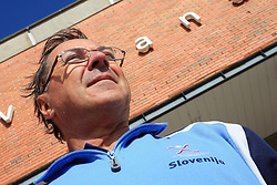 Head coach Miro Pozun after practice of Slovenian handball men national team before going to Israel, on October 27, 2008 in Lasko, Slovenia. (Photo by Vid Ponikvar / Sportal Images)