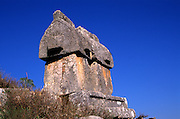 Sarcophagus or Harpy tomb at Lycian city of Tlos, Turkey