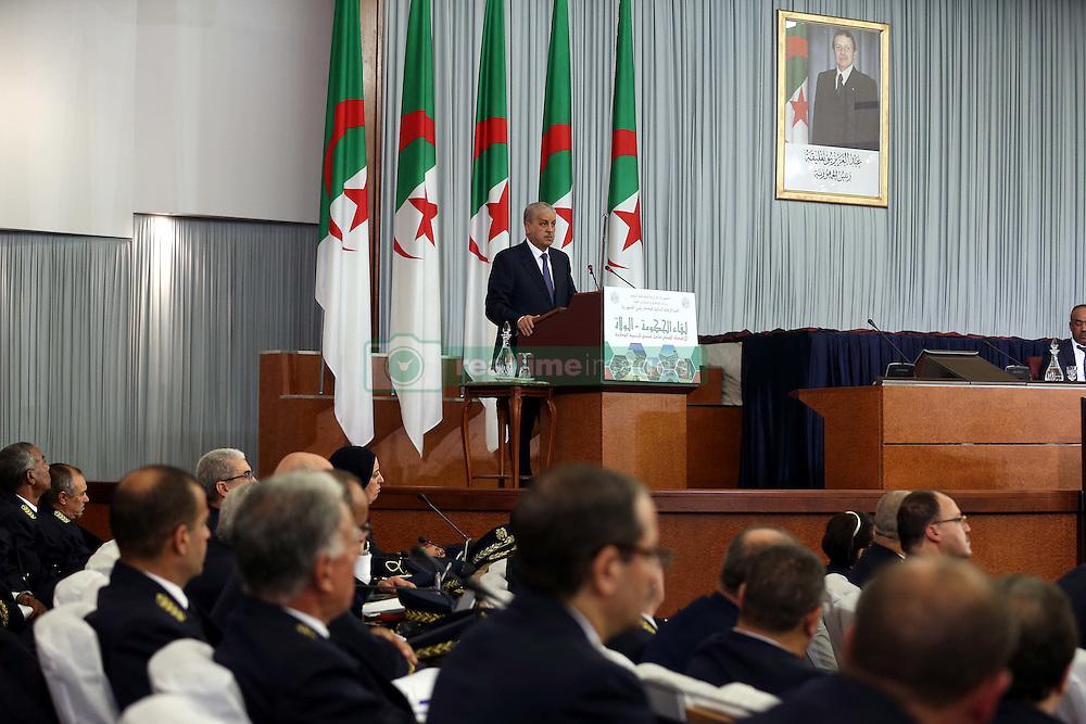 November 12, 2016 - Abed el Malek Sellal Prime Minister  speacks at the opening of the Government-Walis meeting at the Palais des Nations. Algiers on 12/11/2016  (Credit Image: © Billal Bensalem/NurPhoto via ZUMA Press)