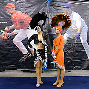 Baseball meets Vegas at the Major League Baseball Trade Show held in conjunction with the league's annual winter meetings in Las Vegas, Nevada.