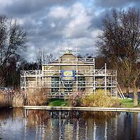 Nederland, Amsterdam , 10 januari 2014.<br /> Oud gemaal Kadoelen aan de Landsmeerderdijk krijgt een nieuw leven.<br /> Foto:Jean-Pierre Jans
