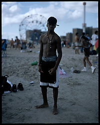 Coney Island teen-agers. Summer 2008.