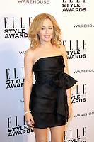Kylie Minogue, ELLE Style Awards, One Embankment, London UK, 18 February 2014, Photo by Richard Goldschmidt