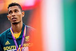 09-08-2017 IAAF World Championships Athletics day 6, London<br /> Wayde van Niekerk RSA, goud op de 400m