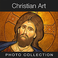 Pictures & Images of Christian Art, Sculptures, Mosaics, Icons & Paintings -