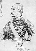 Kodama Gentaro (1852-1906) Japanese soldier and statesman, responsible for Japanese victory in Manchuria during Russo-Japanese War 1904-1905.