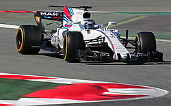 March 1, 2017 - Barcelona, Spain - The Williams of Lance Stroll during day three of Formula One winter testing at Circuit de Catalunya on March 1, 2017 in Montmelo, Spain. (Credit Image: © Jordi Galbany/NurPhoto via ZUMA Press)