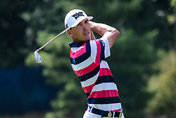 August 9, 2018 - Town And Country, Missouri, U.S - BILLY HORSCHEL from Pointe Verde Beach Florida, USA during his tee shot on hole number 13 during round one of the 100th PGA Championship on Thursday, August 8, 2018, held at Bellerive Country Club in Town and Country, MO (Photo credit Richard Ulreich / ZUMA Press) (Credit Image: © Richard Ulreich via ZUMA Wire)