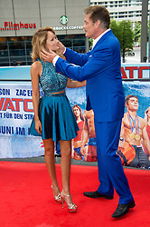 May 30, 2017 - Berlin, Berlin, Deutschland - David Hasselhoff and his girlfriend Hayley Roberts at the 'Baywatch' photocall at Sony Center on May 30, 2017 in Berlin, Germany. (Credit Image: © Future-Image via ZUMA Press)