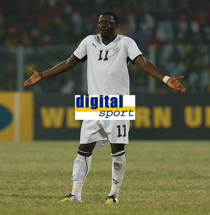 Photo: Steve Bond/Richard Lane Photography.<br />Ghana v Namibia. Africa Cup of Nations. 24/01/2008. Sulley Muntari of Ghana and Portsmouth