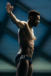 Yona Knight-Wisdom from City of Leeds Diving Club and Jamaica (Guest) competes in the Mens 3m Springboard - Mandatory byline: Rogan Thomson/JMP - 11/06/2016 - DIVING - Ponds Forge - Sheffield, England - British Diving Championships 2016 Day 2.