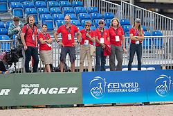 Team SUI, Joannou Antonella, SUI, Dandy de la Roche CMF CH<br /> World Equestrian Games - Tryon 2018<br /> © Hippo Foto - Dirk Caremans<br /> 13/09/2018