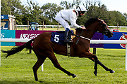 Anjella ridden by Martin Dwyer and trained William Muir - Mandatory by-line: Robbie Stephenson/JMP - 18/07/2020 - HORSE RACING- Bath Racecourse - Bath, England - Bath Races 18/07/20
