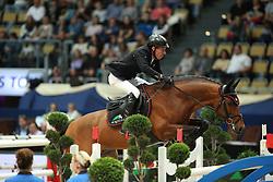 Dreher Hans Dieter, (GER), Quiwi Dream<br /> DKB-Riders Tour<br /> Grand Prix Kreditbank Jumping München 2015<br /> © Hippo Foto - Stefan Lafrentz