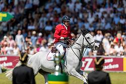 RYAN Devin (USA), Eddie Blue<br /> Aachen - CHIO 2018<br /> Rolex Grand Prix 1. Umlauf<br /> Der Grosse Preis von Aachen<br /> 22. Juli 2018<br /> © www.sportfotos-lafrentz.de/Stefan Lafrentz