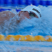 Paul Biedermann, Germany in action in the Men's 200m freestyle at the World Swimming Championships in Rome on Monday, July 27, 2009. Photo Tim Clayton.