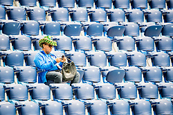 June 22, 2018 - Sankt Petersburg, Russia - 180622 A Brazilian spectator in the stands ahead of the FIFA World Cup group stage match between Brazil and Costa Rica on June 22, 2018 in Sankt Petersburg..Photo: Petter Arvidson / BILDBYRÃ…N / kod PA / 92075 (Credit Image: © Petter Arvidson/Bildbyran via ZUMA Press)