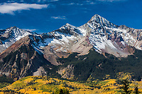 14,017 ft Wilson Peak of the San Miguel Mountains, Colorado.