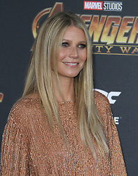Marvel Studios Avengers: Infinity War World Premiere in Hollywood, California on 4/23/18. 23 Apr 2018 Pictured: Gwyneth Paltrow. Photo credit: River / MEGA TheMegaAgency.com +1 888 505 6342