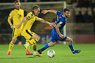 Bradden Inman chases the ball during the EFL Sky Bet League 1 match between Rochdale and Oxford United at Spotland, Rochdale, England on 12 March 2019.