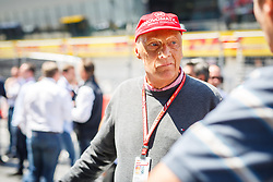 July 1, 2018 - Spielberg, Austria - Motorsports: FIA Formula One World Championship 2018, Grand Prix of Austria, .Niki Lauda (AUT, Mercedes AMG Petronas Motorsport) (Credit Image: © Hoch Zwei via ZUMA Wire)